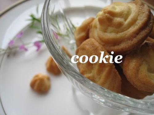 さくさく絞り出しクッキー